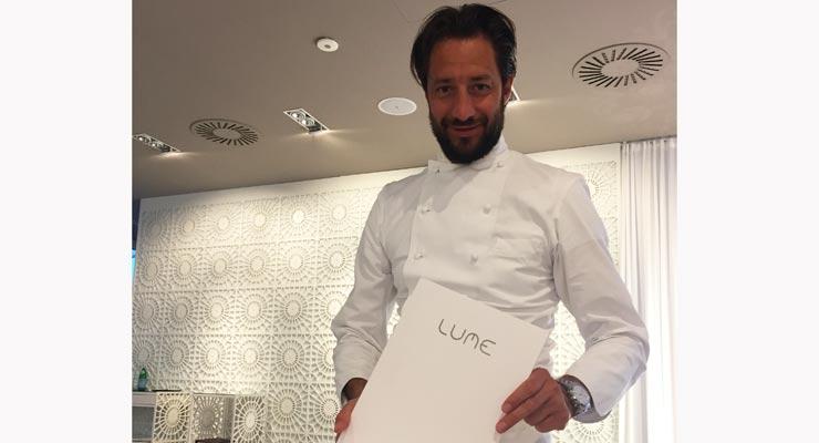 A milano il ristorante lume di luigi taglienti for Luigi taglienti chef